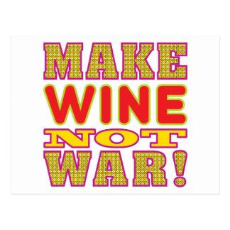 Make Wine Post Card