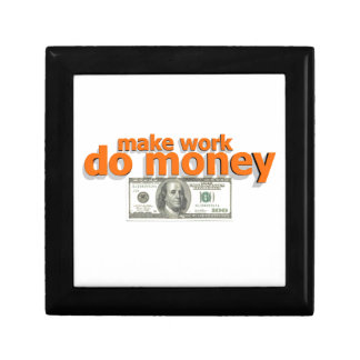 Make work do money gift box