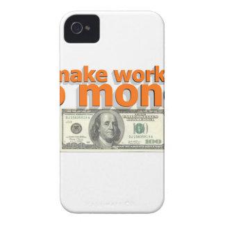 Make work do money iPhone 4 case