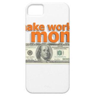 Make work do money iPhone SE/5/5s case