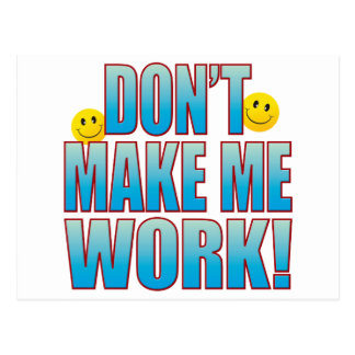 Make Work Life B Postcard