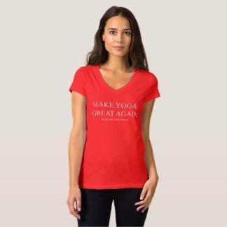 Make Yoga Great Again - Women's T-Shirt