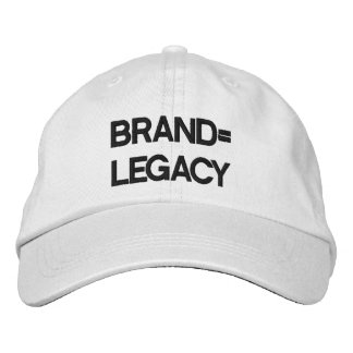 make your brand your LEGACY Baseball Cap