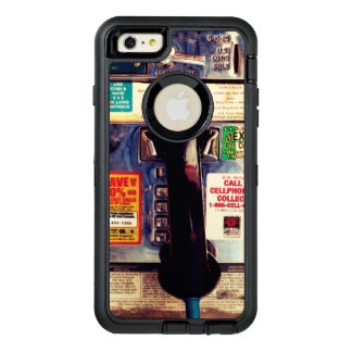 Make Your iPhone Look Like An Old Pay Phone Funny OtterBox Defender iPhone Case