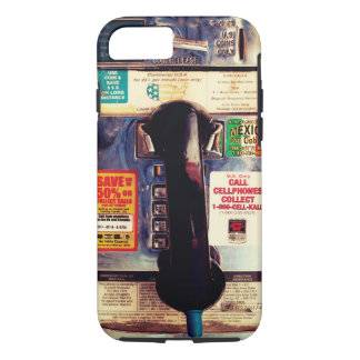 Make Your iPhone Look Like An Old Pay Phone iPhone 8/7 Case