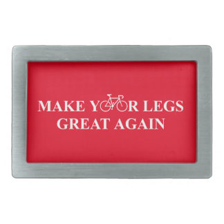 Make Your Legs Great Again Belt Buckle