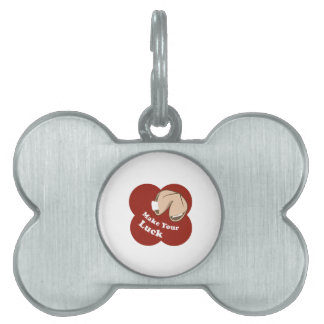 Make Your Luck Pet ID Tag