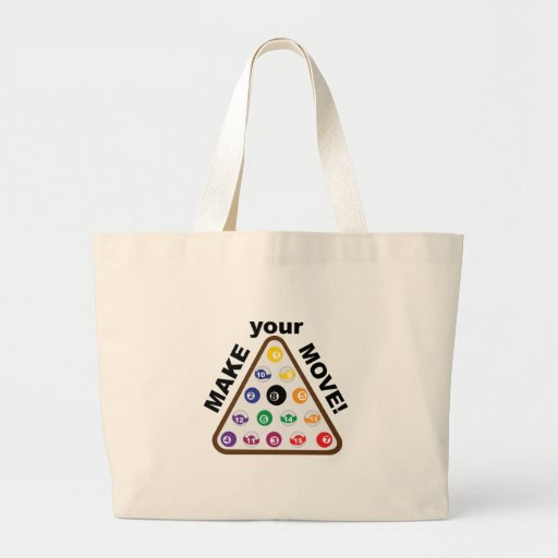 Make Your Move Canvas Bags