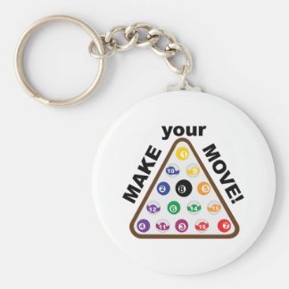 Make Your Move Keychains