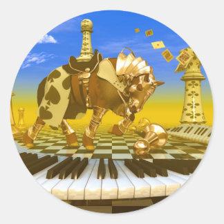 Make Your Move Classic Round Sticker