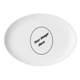 Make Your One Of A Kind China Platter