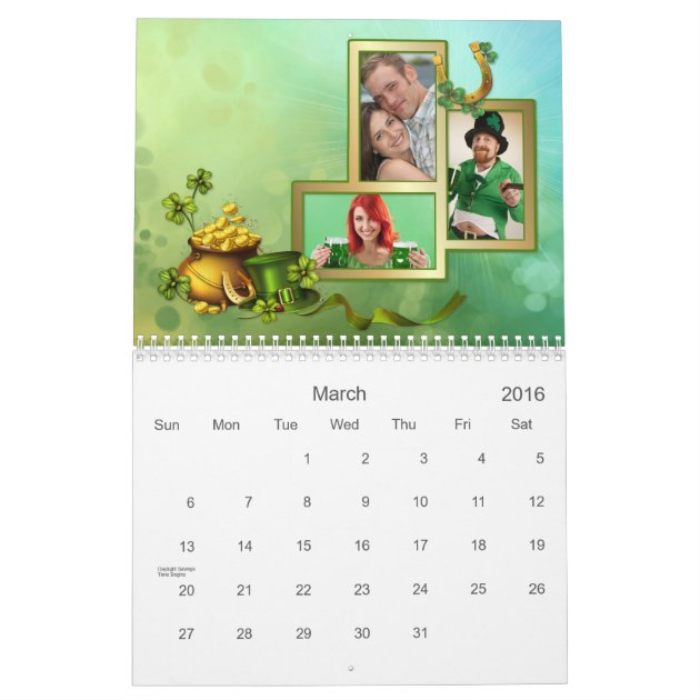 how to make your own photo calendar at home