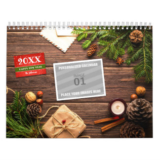 Make Your Own 2018 Family Photo Holiday Picture Calendar