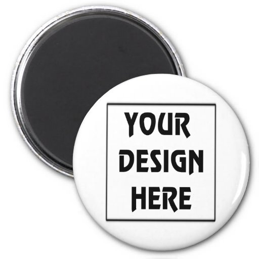 Make Your Own 2 Inch Round Magnet Zazzle