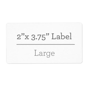 Beach Themed Make Your Own 8.5 X 11 Label