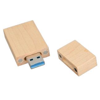 Make Your Own 8GB USB 3.0 Maple Wood Flash Drive Wood USB 3.0 Flash Drive