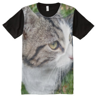 Make your own all over photo t shirt | Add image All-Over Print T-shirt