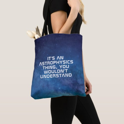 Make Your Own Astrophysics Tote Bag