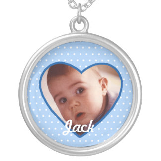 Make Your Own Baby Photo Necklace