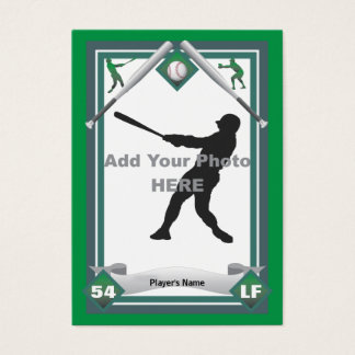 Make Your Own Baseball Card
