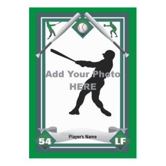 Make Your Own Baseball Card profilecard