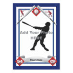 Make Your Own Baseball Card Business Card