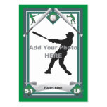 Make Your Own Baseball Card Business Card Template