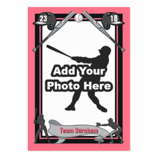 Make Your Own Baseball Card Business Cards