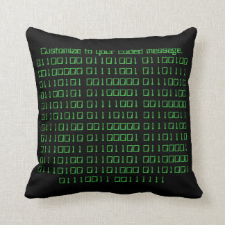 Make your own binary pillow