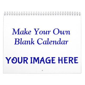 Make Your Own Blank Calendar