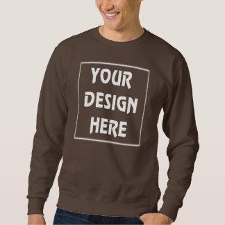 Make Your Own Brown Sweatshirt