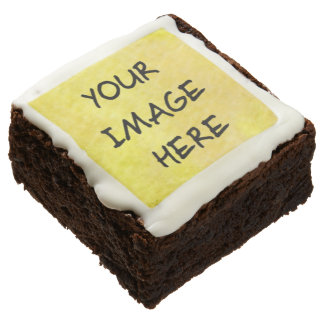 Make Your Own Brownies Square-Upload Photo