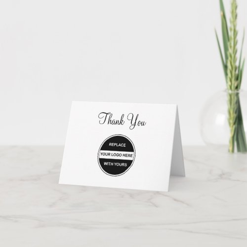Make Your Own Business Thank Yous Thank You Card