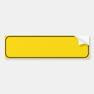 Make Your Own Car Bumper Sticker