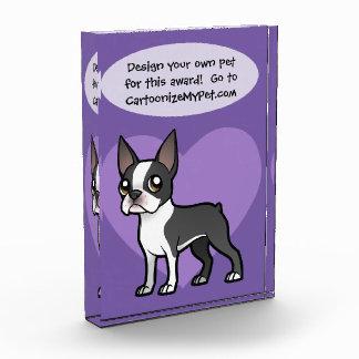 Make Your Own Cartoon Pet Acrylic Award