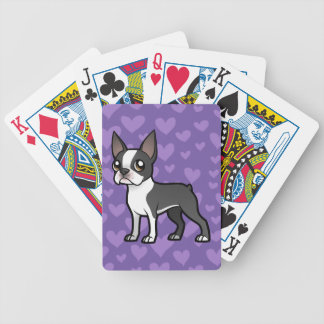Make Your Own Cartoon Pet Bicycle Playing Cards