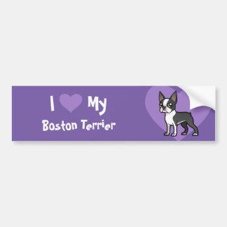 Make Your Own Cartoon Pet Car Bumper Sticker