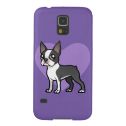 Case-Mate Barely There Samsung Galaxy S5 Case with Boston Terrier Phone Cases design