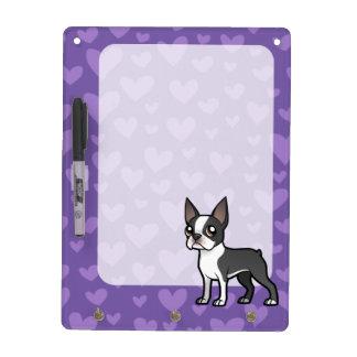 Make Your Own Cartoon Pet Dry-Erase Board