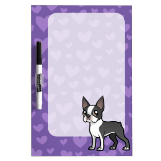 Make Your Own Cartoon Pet Dry-Erase Whiteboards