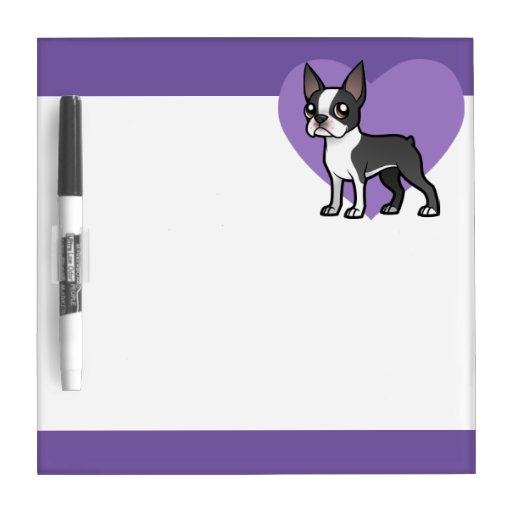 Make Your Own Cartoon Pet Dry-Erase Boards