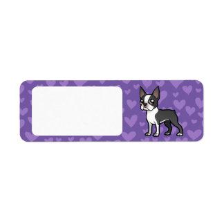 Make Your Own Cartoon Pet Label