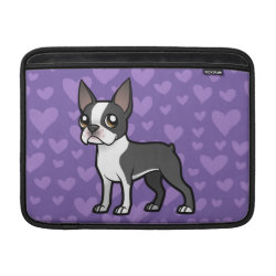 Macbook Air Sleeve with Boston Terrier Phone Cases design