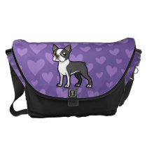 Make Your Own Cartoon Pet Messenger Bag