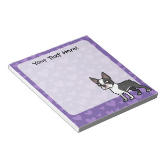 Make Your Own Cartoon Pet Memo Note Pads