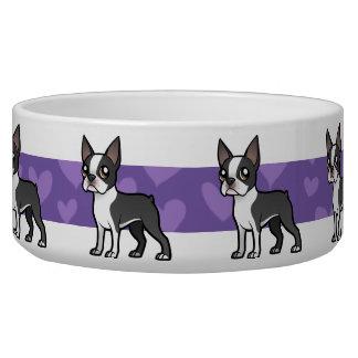 Make Your Own Cartoon Pet Dog Water Bowl