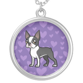 Make Your Own Cartoon Pet Round Pendant Necklace