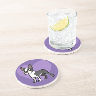 Make Your Own Cartoon Pet Sandstone Coaster
