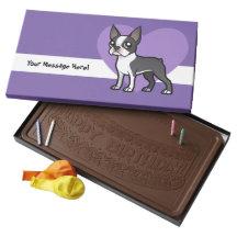 Make Your Own Cartoon Pet 2 Pound Milk Chocolate Bar Box