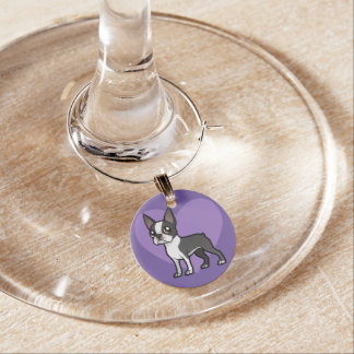 Make Your Own Cartoon Pet Wine Glass Charm